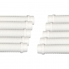 "WHITE AUTOMATIC POOL CLEANER 40"" HOSE INTEX BESTWAY FILTRATION 40MM 6 PACK"